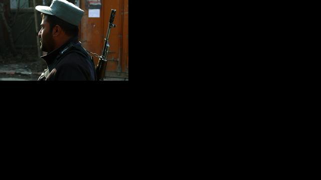 Aanslag op Afghaans politiebureau