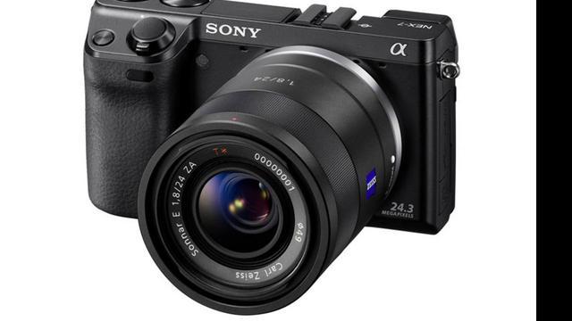 'Sony werkt aan volbeeld systeemcamera'