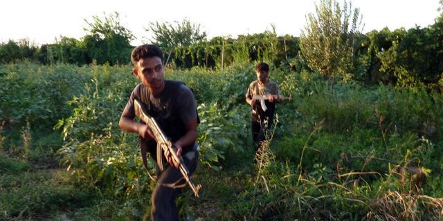 Rebellen Syrië veroveren grensstad