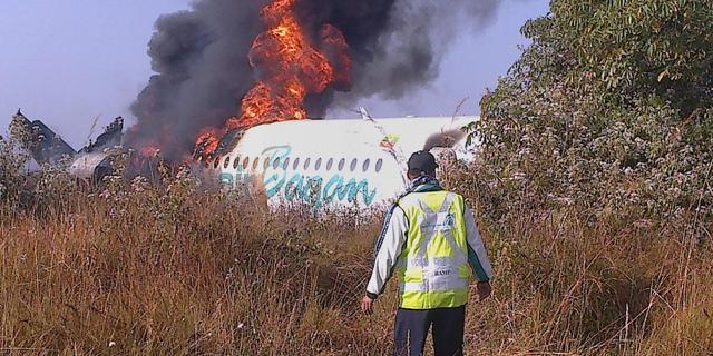 Minder schadeclaims na vliegtuigongelukken in 2012