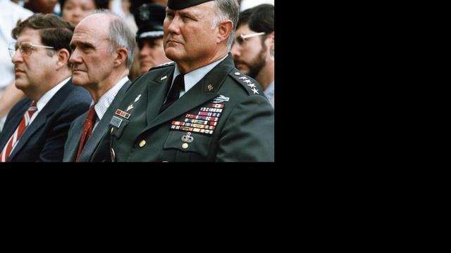 Desert Storm-commandant Schwarzkopf  (78) overleden