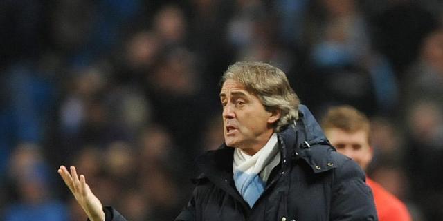 Mancini wijt nederlaag aan arbiter Friend