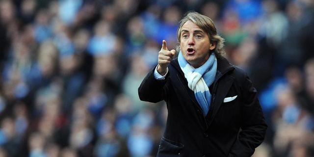 Mancini overweegt systeem zonder aanvallers