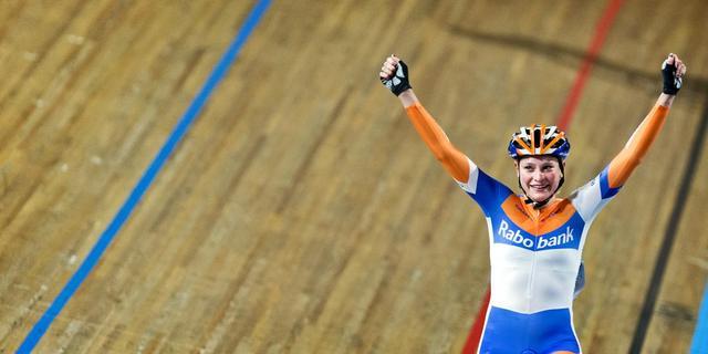 Knetemann wint puntenkoers op NK baan
