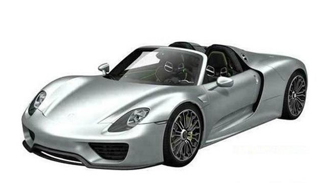 Beelden Porsche 918 Spyder gelekt
