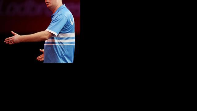 Van der Voort niet opgewassen tegen Lewis op WK darts