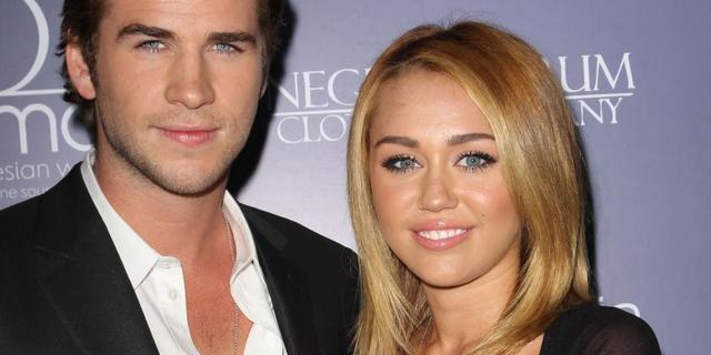 'Miley Cyrus en Liam Hemsworth getrouwd'