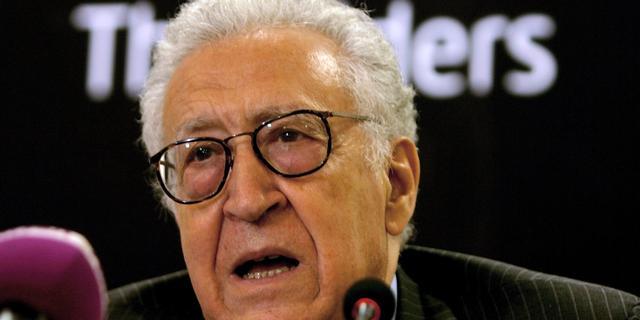 Brahimi komt met nieuw voorstel Syrië