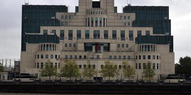 'Britse spion sloot zichzelf op in sporttas'