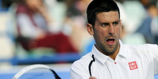 Supporters duwen hek tegen Djokovic