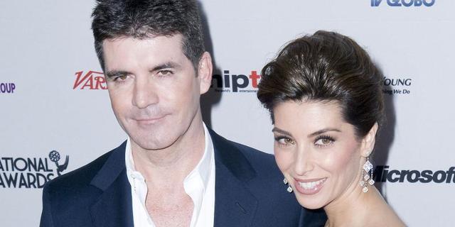 Simon Cowell viert vakantie met ex-verloofde