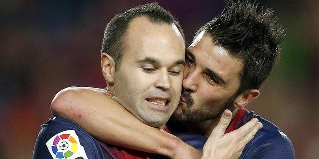 Iniesta: 'Villa moet blijven'