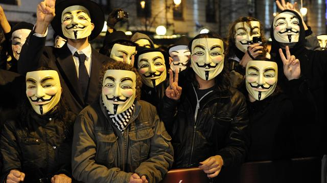 Twitter-accounts Anonymous gehackt