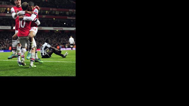 Arsenal in slotfase oppermachtig tegen Newcastle United
