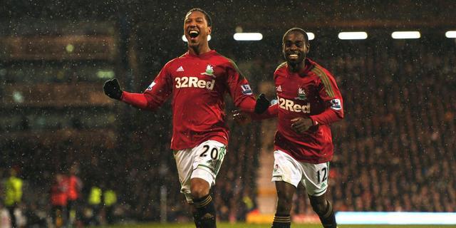 Vorm ziet Swansea City van Fulham winnen
