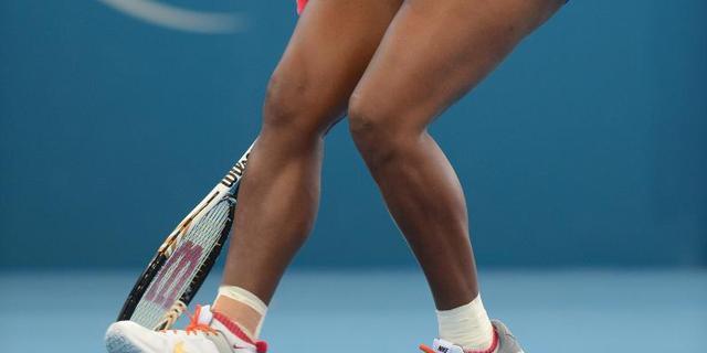 Serena Williams en Kvitova verder in Brisbane