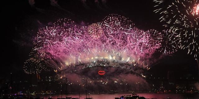 Sydney viert 2013 met traditioneel groots vuurwerk