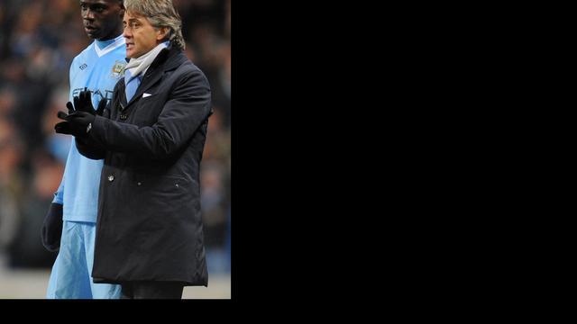 Balotelli niet bestraft voor handgemeen met Mancini