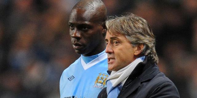 'Balotelli gaat niet weg bij Manchester City'