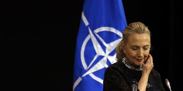 Hillary Clinton heeft bloedprop in hoofd