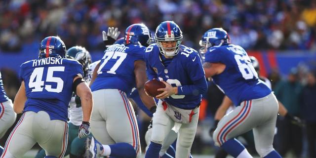 Giants kunnen Super Bowl niet verdedigen