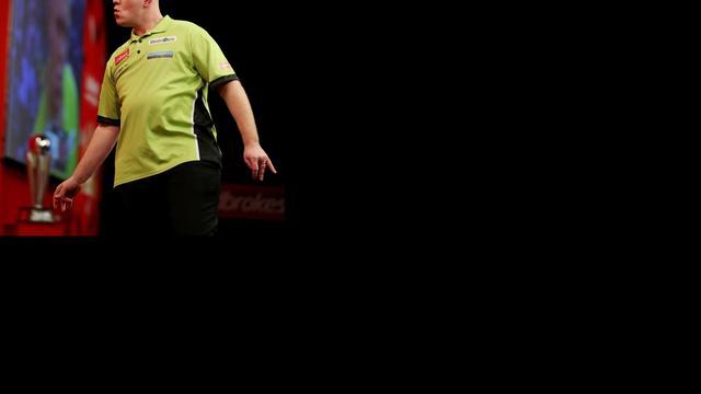 Van Gerwen en Van Barneveld boeken zege in Premier League Darts