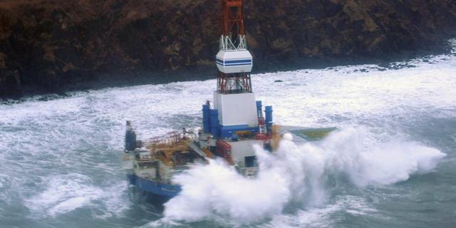 Shell zet boringen Alaska voor dit jaar stop