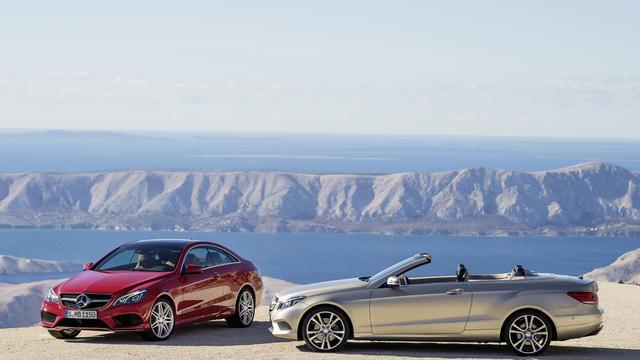 Facelift voor Mercedes E Coupé en Cabriolet