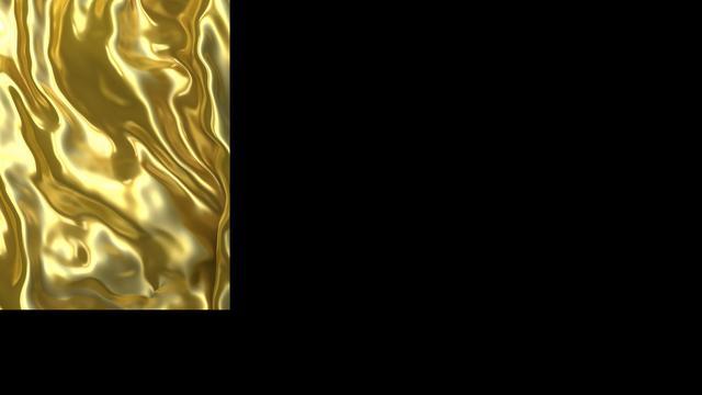 Man laat gouden overhemd maken