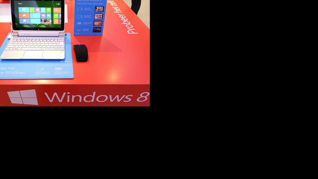 Minder laptops verkocht in VS ondanks Windows 8