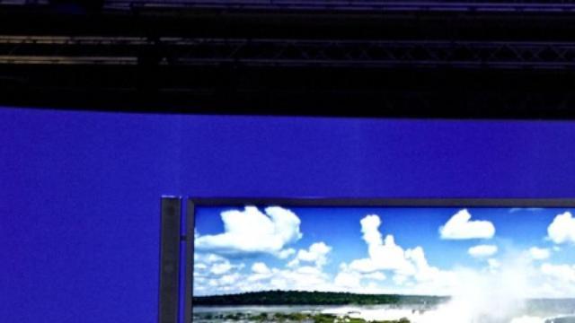 'Sony presenteert OLED-tv met 4K-resolutie op CES'