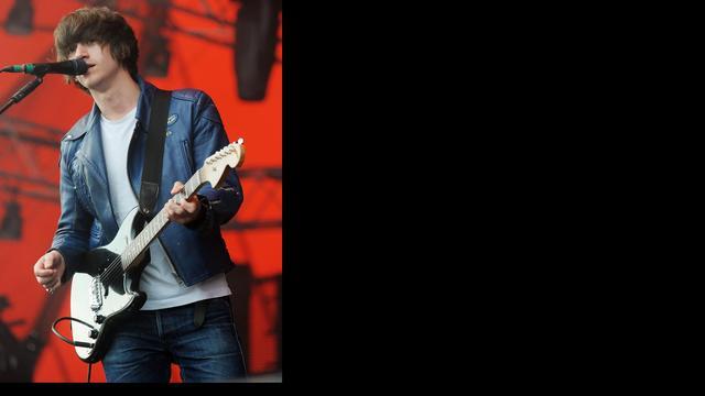 Zanger Arctic Monkeys op album Queens Of The Stone Age