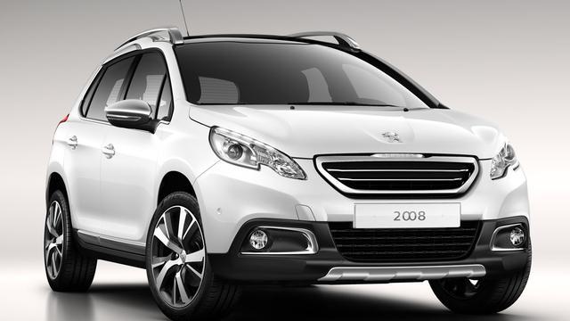 Peugeot 2008 officieel gepresenteerd