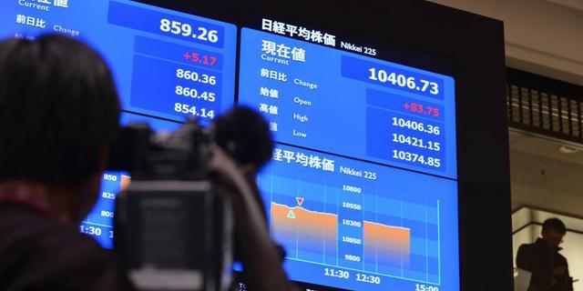 Nikkei na eindspurt boven 14.000 punten