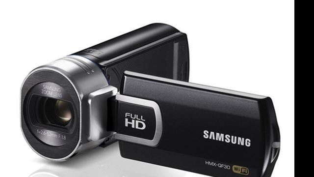 Samsung voorziet camcorder van wifi