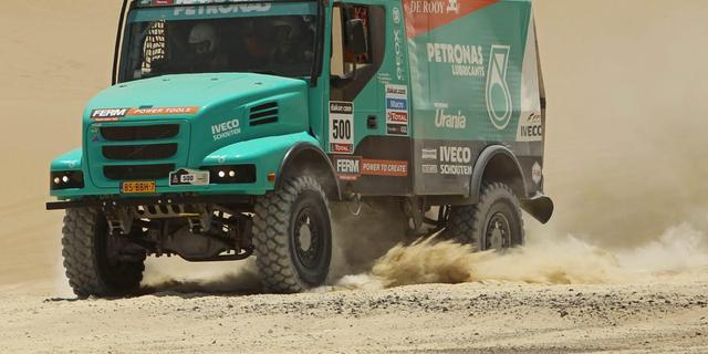 De Rooy opnieuw de beste, Verhoeven weer in top tien Dakar