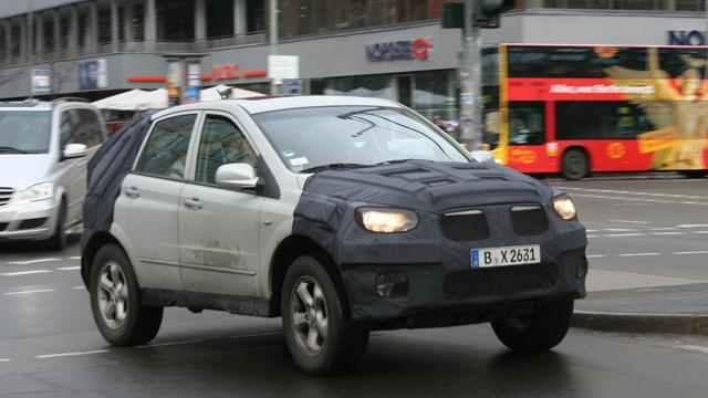 Facelift voor SsangYong Actyon