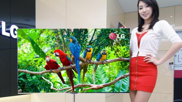 LG begint met leveren eerste OLED-tv