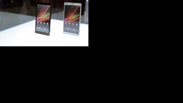 Smartphoneverkopen Sony fors gegroeid