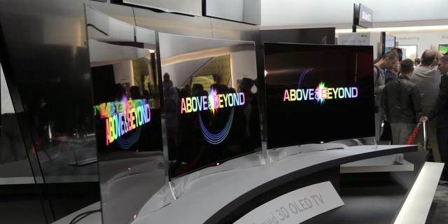 LG verkoopt gebogen oled-tv in Korea voor 10.500 euro