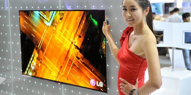 LG Display investeert 490 miljoen euro in OLED-tv's