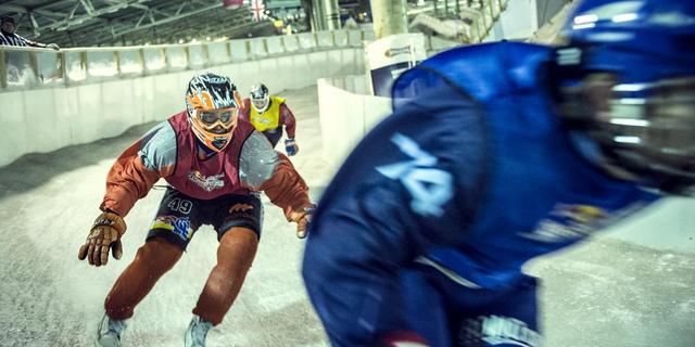 Bakx eerste Nederlands kampioen Ice Cross Downhill