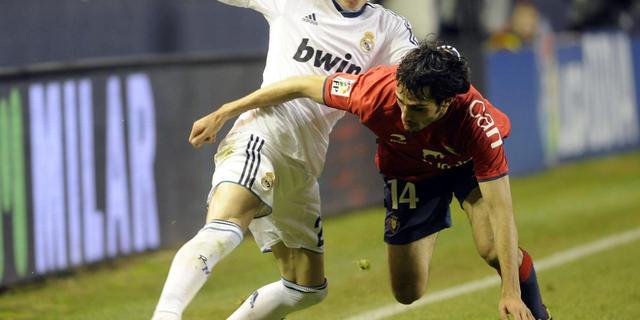 Real Madrid verliest zonder Ronaldo punten bij Osasuna