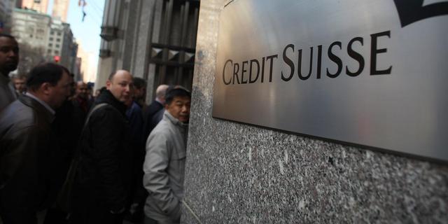 'Credit Suisse betaalt 20 procent minder bonussen'