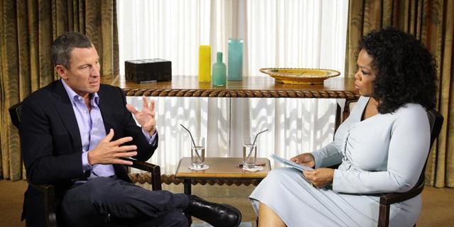 Winfrey bevestigt dopingbekentenis Armstrong