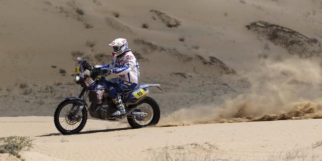 Dagzege motorcoureur Verhoeven in Dakar Rally