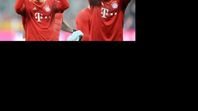 Robben in basis tegen HSV, Ribéry bankzitter