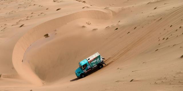 De Rooy derde in vijfde etappe Dakar Rally