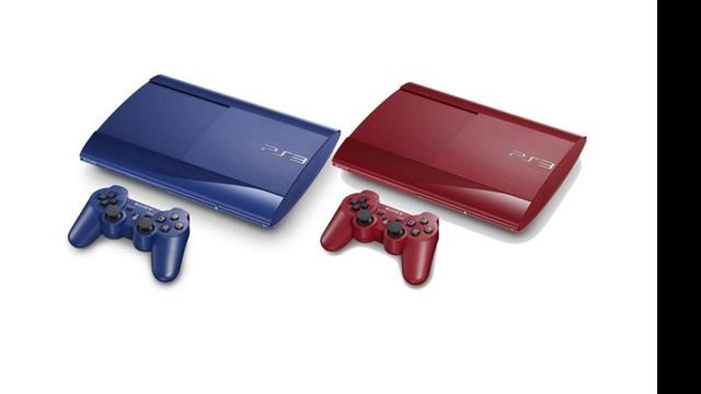 Sony kondigt rode en blauwe PlayStation 3 aan