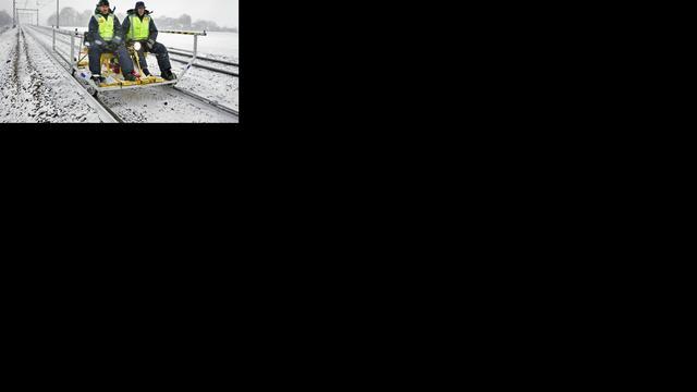 Prorail gebruikt Twitter bij sneeuw, hagel en onweer